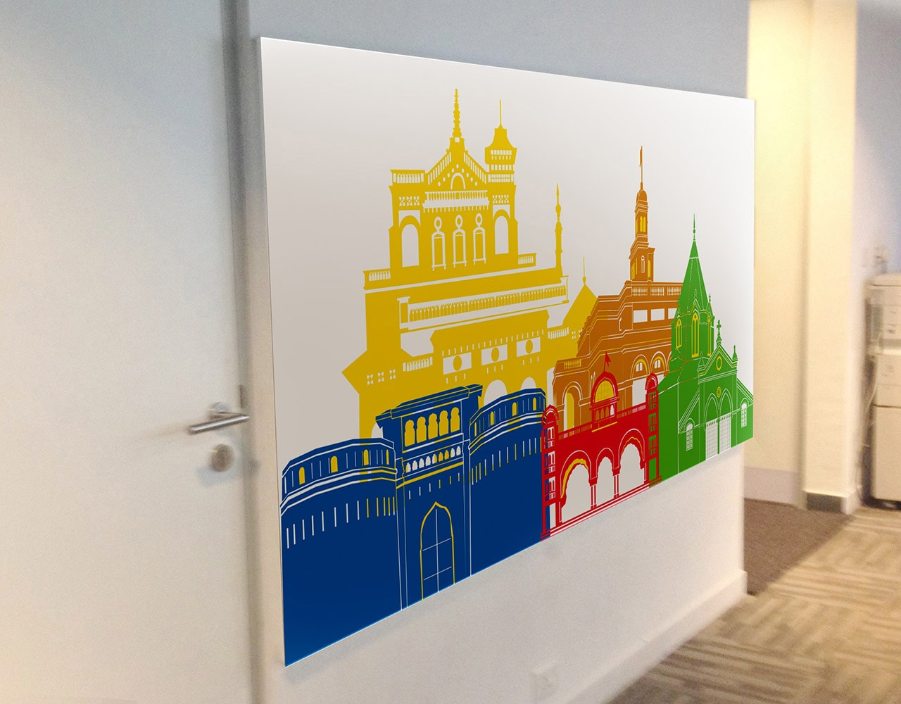 office wall designs
