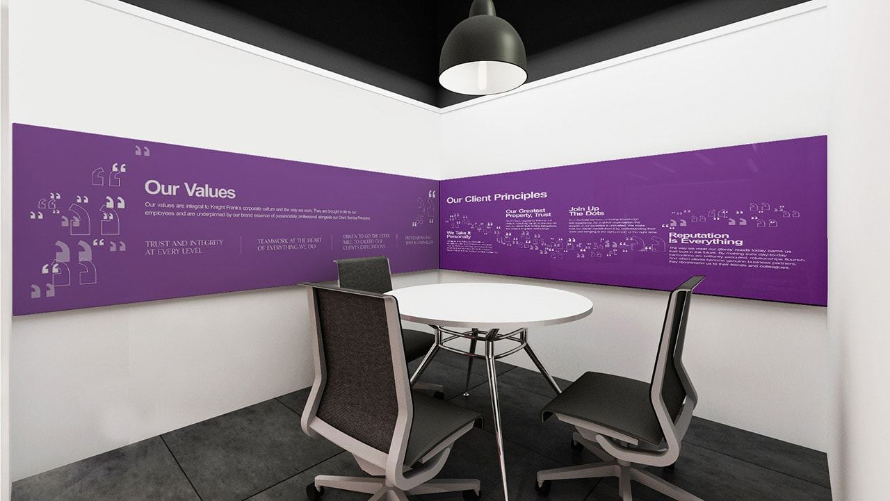 office workspace design agency